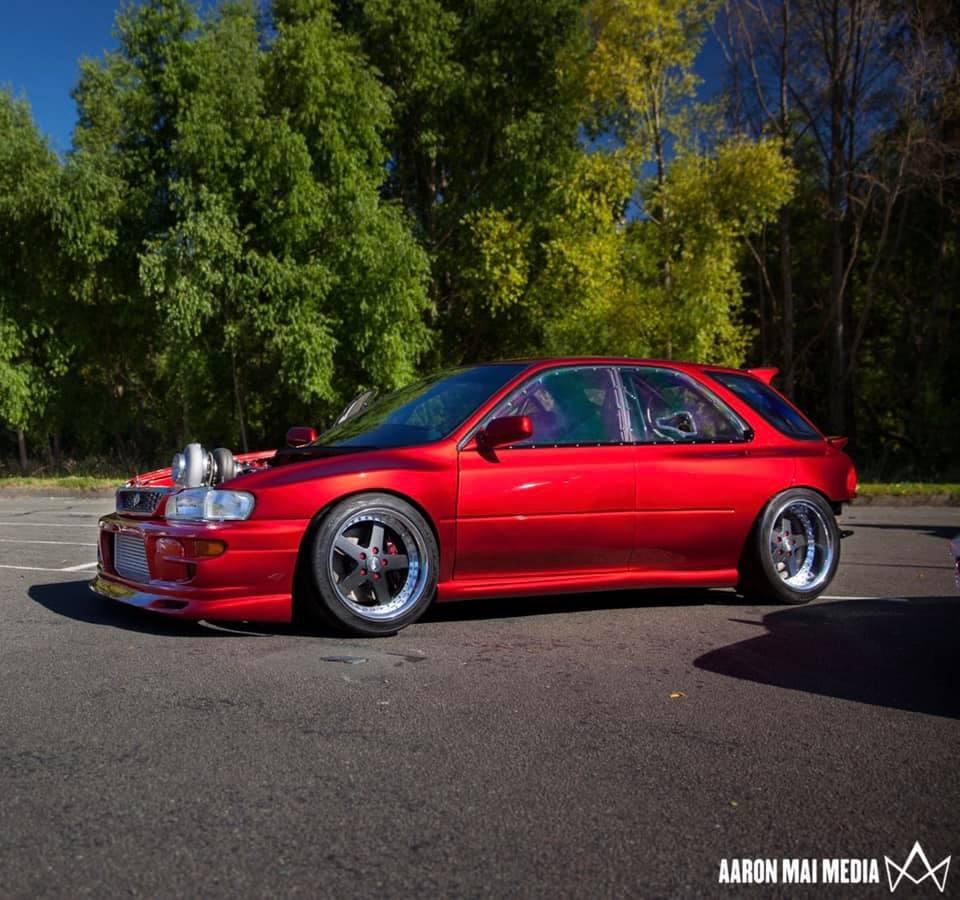 R's Garage Subaru WRX - Side View
