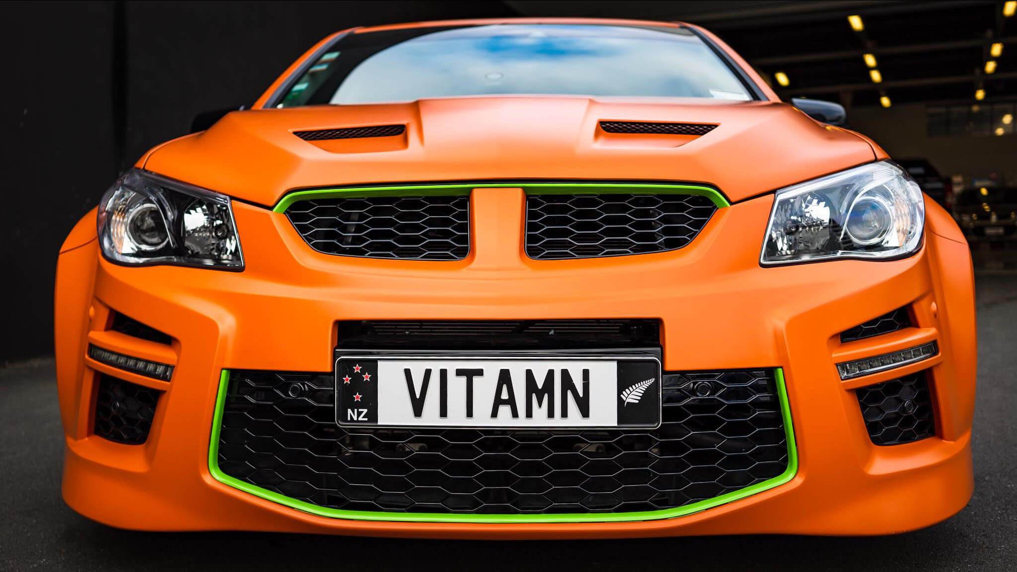 2014 Holden HSV VITAMN - Back View